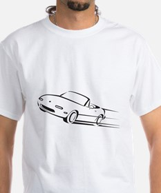 Japanese Cute Roadster Line Shirt