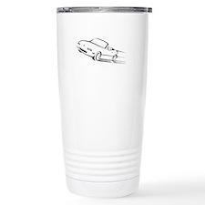 Japanese Cute Roadster Line Travel Mug