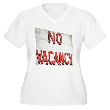 No Vacancy Plus Size T-Shirt