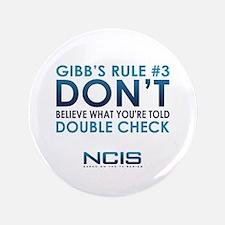 """Gibbs Rule #3 3.5"""" Button"""