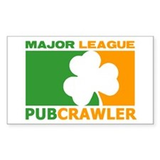 """Major League Pubcrawler"" Decal"