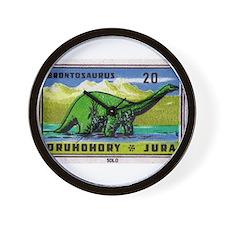 Brontosaurus Czechoslovakian Matchbox Label Wall C
