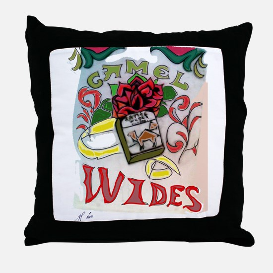 My Version of Camel Wides Throw Pillow
