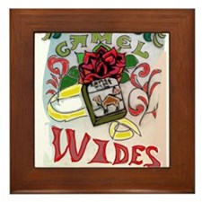 My Version of Camel Wides Framed Tile