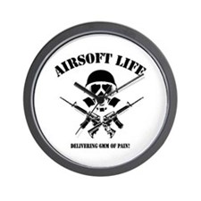 Airsoft Life Wall Clock