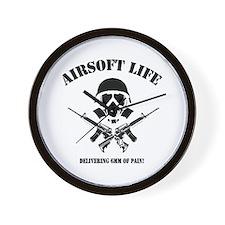 Airsoft Life Wall Clock