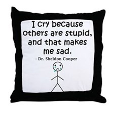 Big Bang Others Are Stupid Throw Pillow