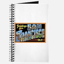 San Francisco California Greetings Journal