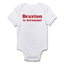 Braxton is Awesome Infant Bodysuit