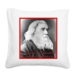 Lysander Spooner Square Canvas Pillow