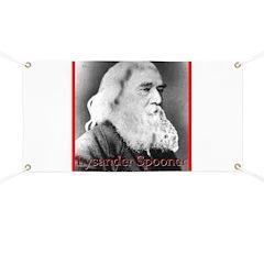 Lysander Spooner Banner