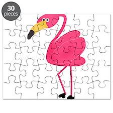 Pink Flamingo Puzzle