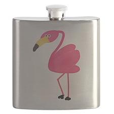 Pink Flamingo Flask