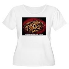 Ball Python Plus Size T-Shirt