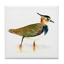 Northern Lapwing Tile Coaster