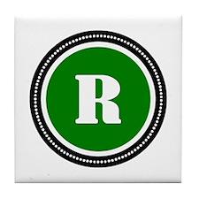 Green Tile Coaster