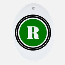 Green Ornament (Oval)