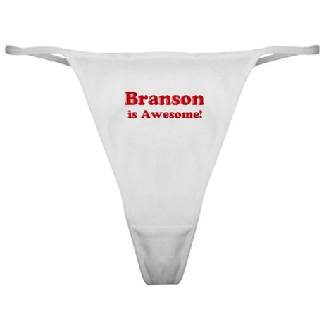 Branson is Awesome Classic Thong