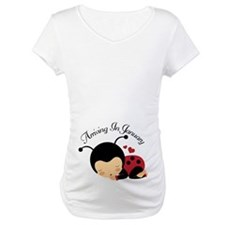 Arriving In January ladybug Shirt