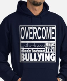 Overcome Bullying Hoodie (dark)