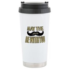 May the stache be with you Travel Mug