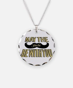 May the stache be with you Necklace