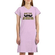 May the stache be with you Women's Nightshirt