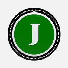 Green Ornament (Round)