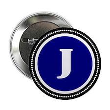 """Blue 2.25"""" Button"""