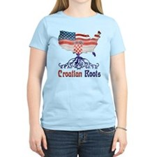 American Croatian Roots T-Shirt