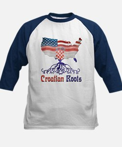 American Croatian Roots Baseball Jersey