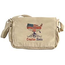 American Croatian Roots Messenger Bag