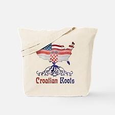 American Croatian Roots Tote Bag