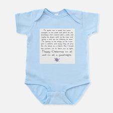 X-mas Poem Infant Bodysuit