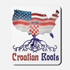 American Croatian Roots Mousepad