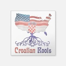 American Croatian Roots Sticker