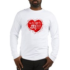 All You Need Is Love-The Beatles Long Sleeve T-Shi