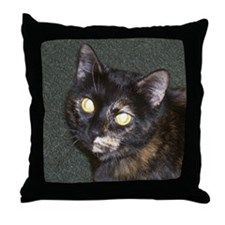 Cute Calico Throw Pillow