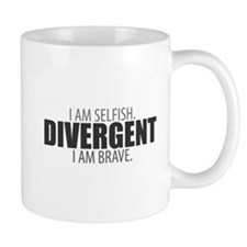 Divergent: I Am Selfish. I Am Brave. Mug