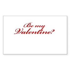 Be My Valentine? Decal