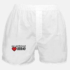 My Girlfriend Loves Me Boxer Shorts