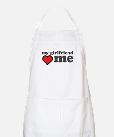 My Girlfriend Loves Me Apron