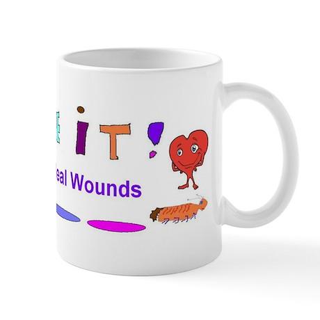 Believe It Moms Heal Mug