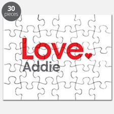 Love Addie Puzzle