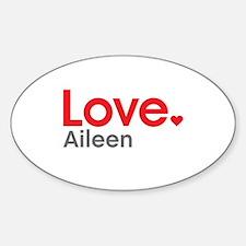 Love Aileen Decal