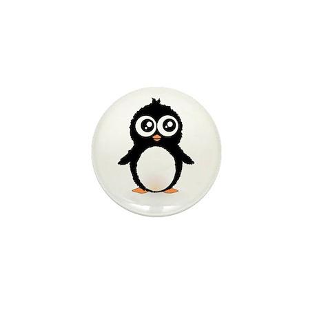 Cute penguin Mini Button