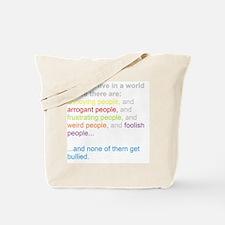 antibullying Tote Bag
