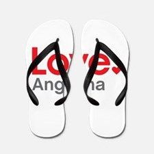 Love Angelina Flip Flops