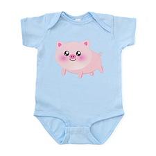 cute pig Body Suit
