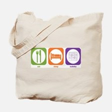 Eat Sleep Sudoku Tote Bag